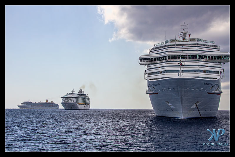 Cruise ships, Cayman Islands