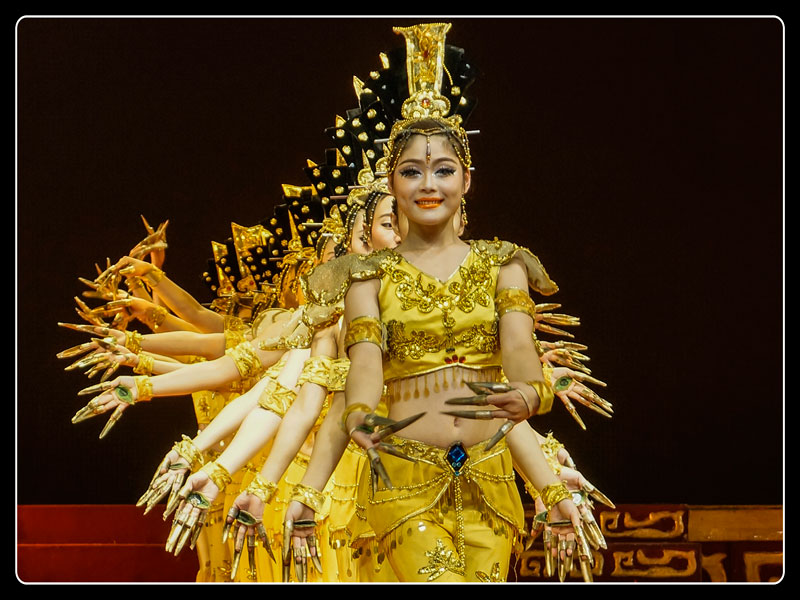 Tang Dynasty Stage Show, Xian, China