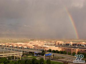 cd130-d54.jpg - Rain shower and rainbow